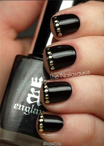Cool New Year Nail Art Ideas - Reny styles