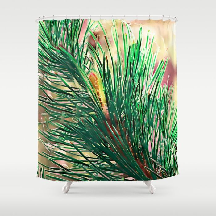 Buy Emerald pine(2) Shower Curtain by maryberg. Worldwide shipping available at Society6.com. Just one of millions of high quality products available.