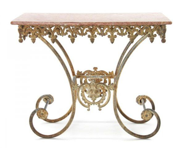 Antique French Pastry Table