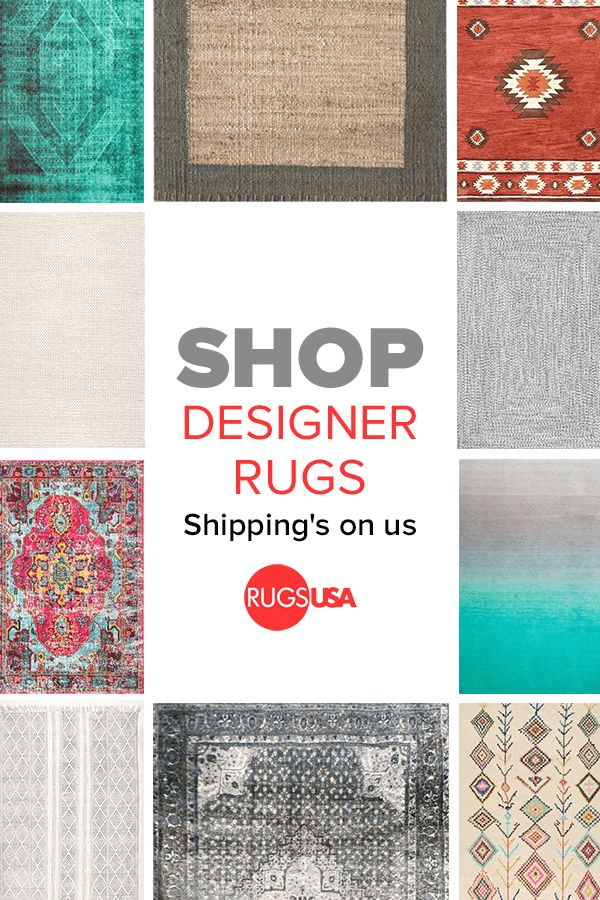 When it comes to designer rugs at discounted prices, find everything you need at Rugs USA. Choose from 1000s of amazing high-quality styles at up to 80% off --animal print, bohemian, braided, coastal, modern, animal hides, jute & sisal, kids, outdoor, shag, southwest, traditional, vintage and tons more.