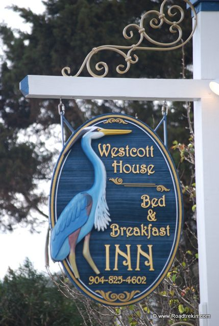 Wescot House,  this is the best Bed and Breakfast in St Augustine http://www.westcotthouse.com/