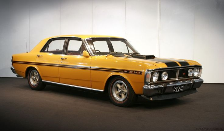 ford falcon xy 351gt - 1971. Drool