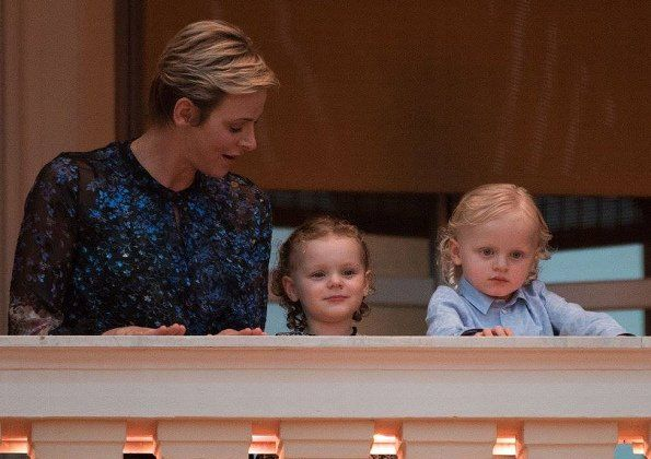 "In the evening on June 23, 2017, Princess Charlene of Monaco and her twins Princess Gabriella and Prince Jacques watched the traditional celebrations of St. John's Day procession (Fête de la Saint-Jean) at Palace Square in Monaco. (The ""Fête de la Saint Jean"" (feast of St John), traditionally celebrated with bonfires (le feu de la Saint-Jean) that are reminiscent of Midsummer's pagan rituals, is a Catholic festivity in celebration of Saint John the Baptist. It takes place on June 23-24 on…"