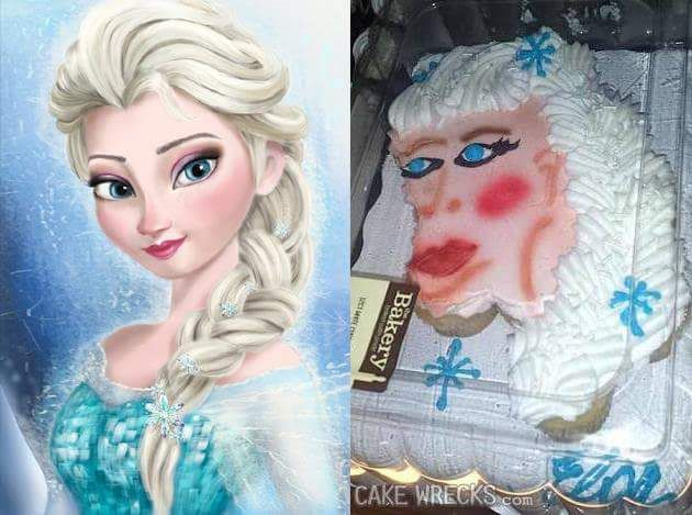 It looks a combination of Elsa and that guy from the Bee Movie (think his name started with a K) (ken maybe)