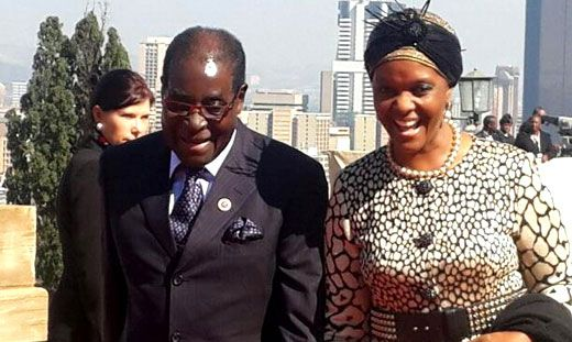 Mugabe's wife awarded PhD, two months after enrollment! Yup, only in Africa...