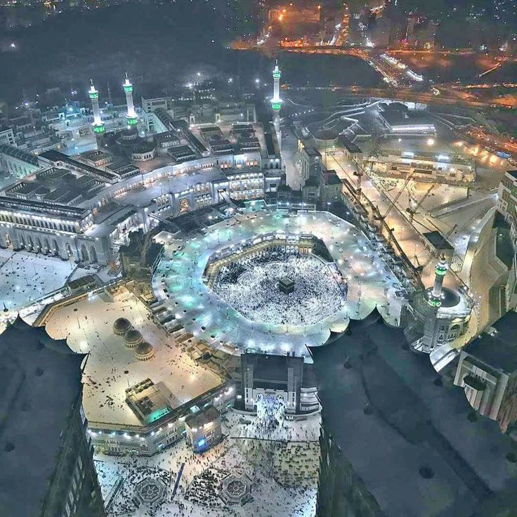 Incredible View Of Masjid-Al-Haram Makkah. #Masjid_Al-Haram #Kaaba #Makkah #Hajj #Umrah Visit - http://www.mzahidtravel.com/hajj/packages/UK/platinum-hajj-package.html