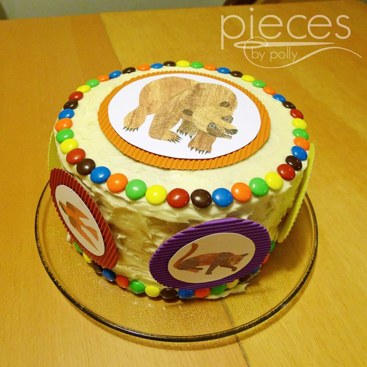 Dots on cake - Eric Carle theme