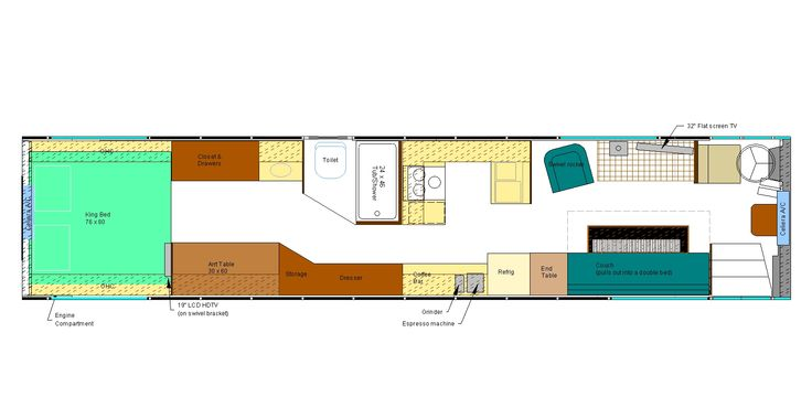 1000 Images About Bus Conversions Floorplans On