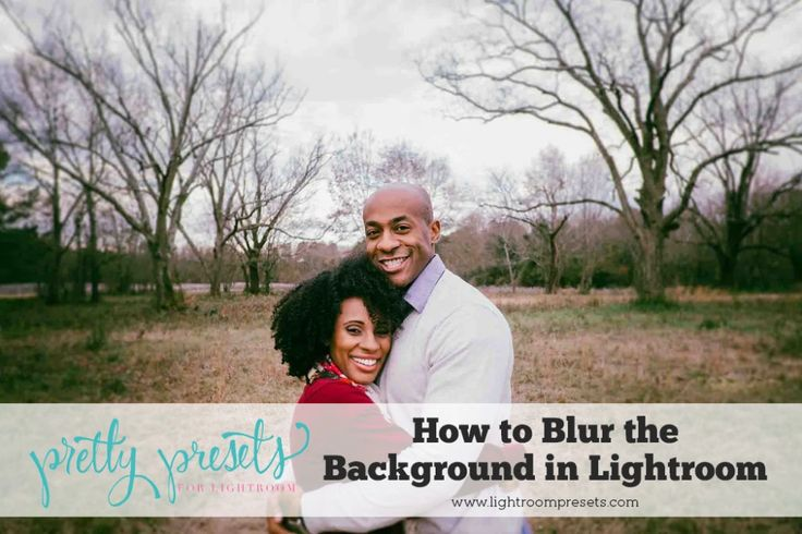 How to Blur Background in Lightroom (3 Different Methods