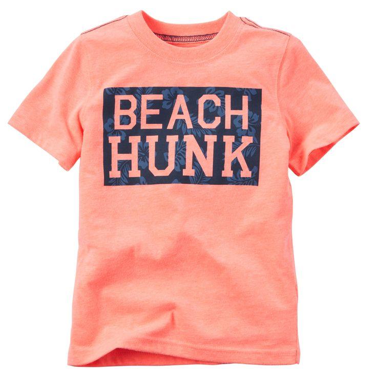 Neon Beach Hunk Tee