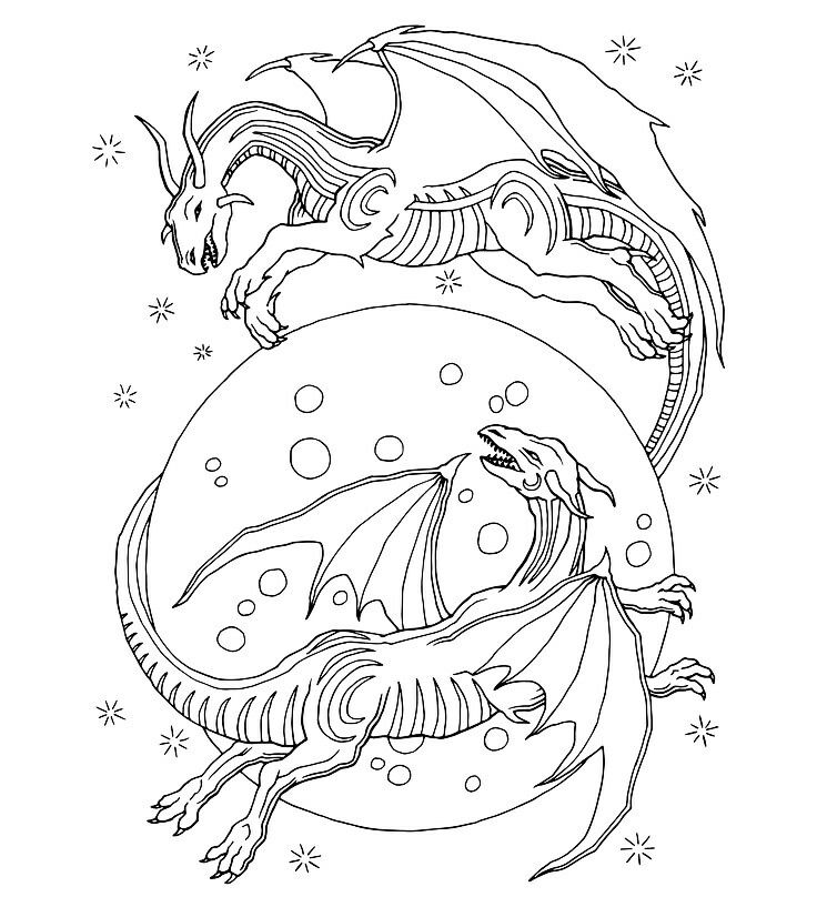 Pin on Fantasy Coloring Pages Collection