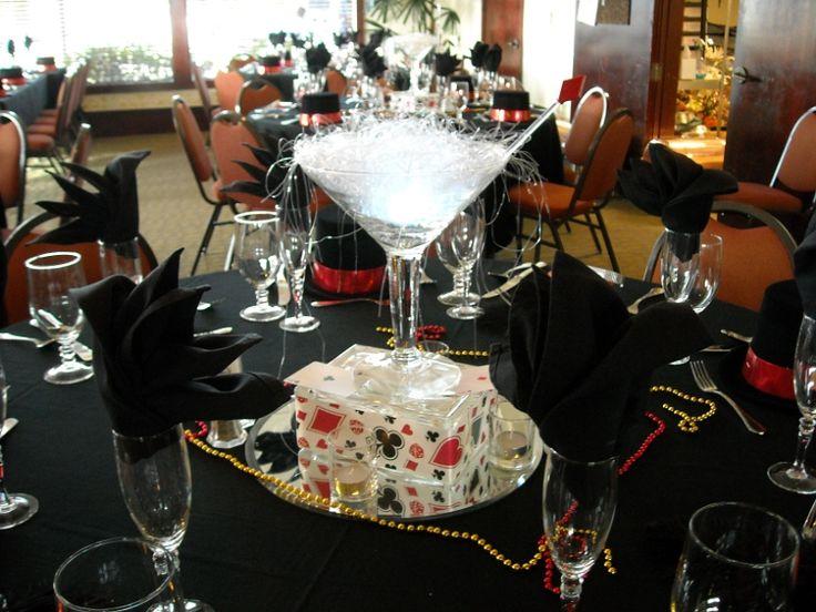 The best martini centerpiece ideas on pinterest