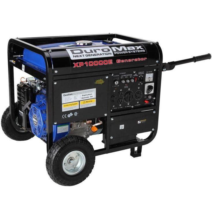 10,000Watt Gasoline Powered Electric Start Portable