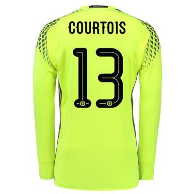 Chelsea Linear Goalkeeper Shirt 16-17 with Courtois 13 printing