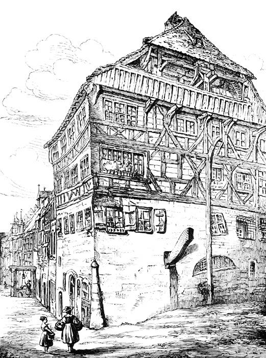 """""""Albrecht Dürer's House from 1509-1528"""" - Albrecht Dürer (1471-1528)"""