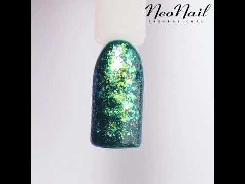 NeoNail Shorts - nakładanie lakieru z drobinkami gąbeczką Star Glow - YouTube