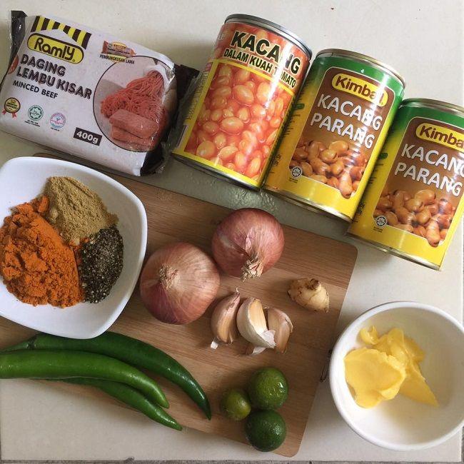 Resepi Kacang Pool Sedap Dan Mudah Resepi Bonda Cooking Recipes Recipes Food
