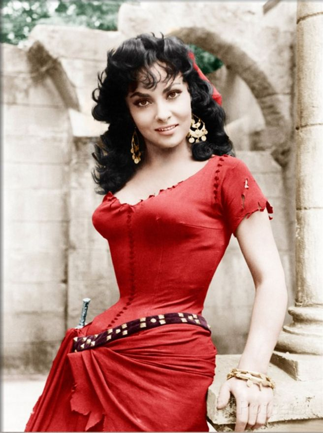 THE HUNCHBACK OF NOTRE DAME, Gina Lollobrigida, 1956
