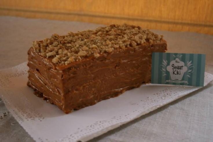 Torta de panqueques, manjar, nuez Buscanos en facebook! SweetKiki postres