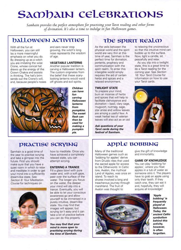 Samain:  #Samhain Celebrations.