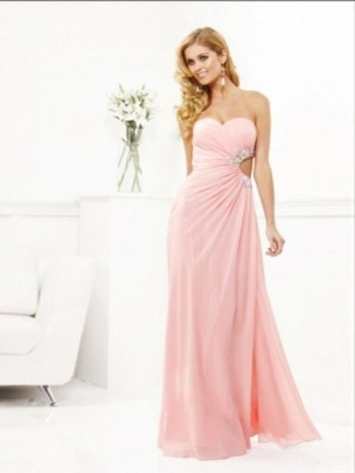 ber ideen zu abendkleider lang rosa auf pinterest. Black Bedroom Furniture Sets. Home Design Ideas
