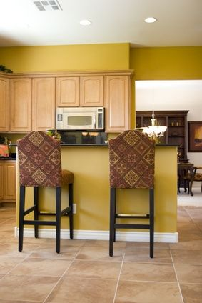 Maple Cabinets Cabinets And Kitchen Walls On Pinterest