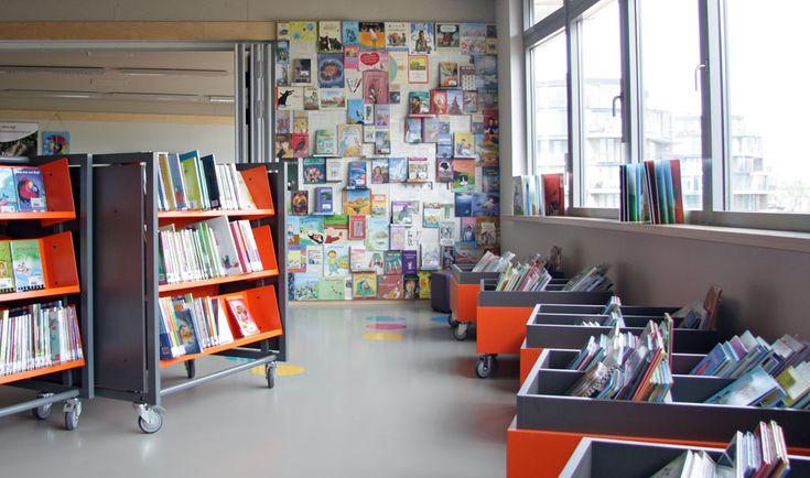 Inrichting Bibliotheek op School Vlissingen