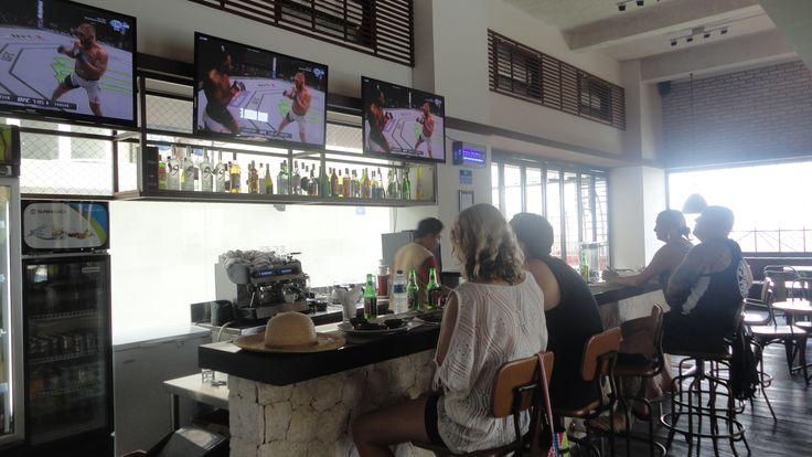 Watching together at Homerun Sport Cafe - Mahogany Hotel Nusa Dua Bali