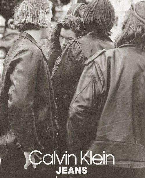 Calvin Klein 1991  Photographer: Bruce Weber  Model: Carre Otis