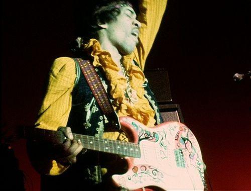 Jimi at Monterey 67'