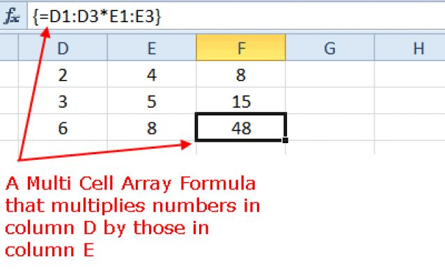 Excel Multi-Cell Array Formulas | Step by step, French and Tutorials