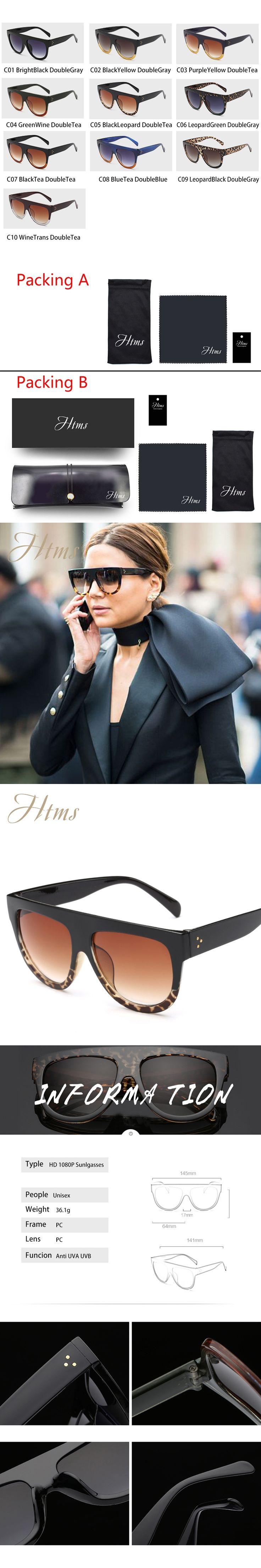 2017 Wild Fox Sunglasses Women Vintage Women Oculos Sol Feminino Ray Anti UVA UVB 10 Colors Big Frame UV400 Oversize Eyewear New