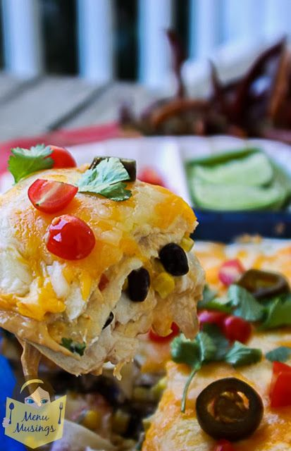Easy Mexican Chicken Lasagna - a step-by-step photo recipe tutorial to making this super easy, family friendly, one-pot dish.