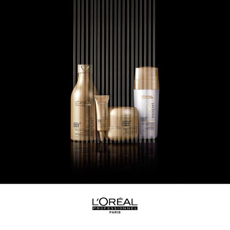 Yıpranmış saçlarınız mı var? Saç tellerini yeniden yapılandırarak daha dayanıklı olmasını sağlayan Série Expert Absolut Lipidium serisi ile tanışın. Size en yakın L'Oréal Professionnel kuaförünüzde…