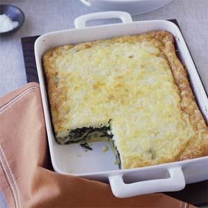 Check out Swiss Chard and Ricotta Salata Egg Bake. It's so easy to ...