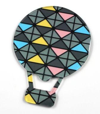 Translucent Geo hot air balloon