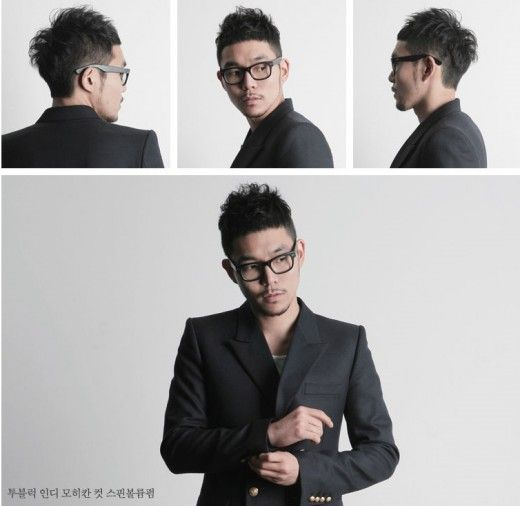 asian hairstyles for guys with glasses images