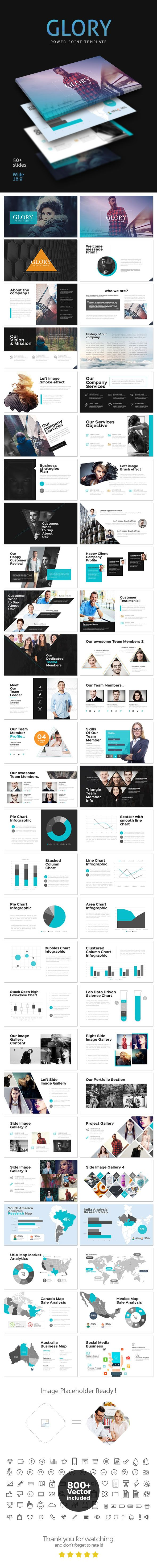 Glory PowerPoint Template - Business #PowerPoint #Templates Download here: https://graphicriver.net/item/glory-powerpoint-template/17118326?ref=alena994