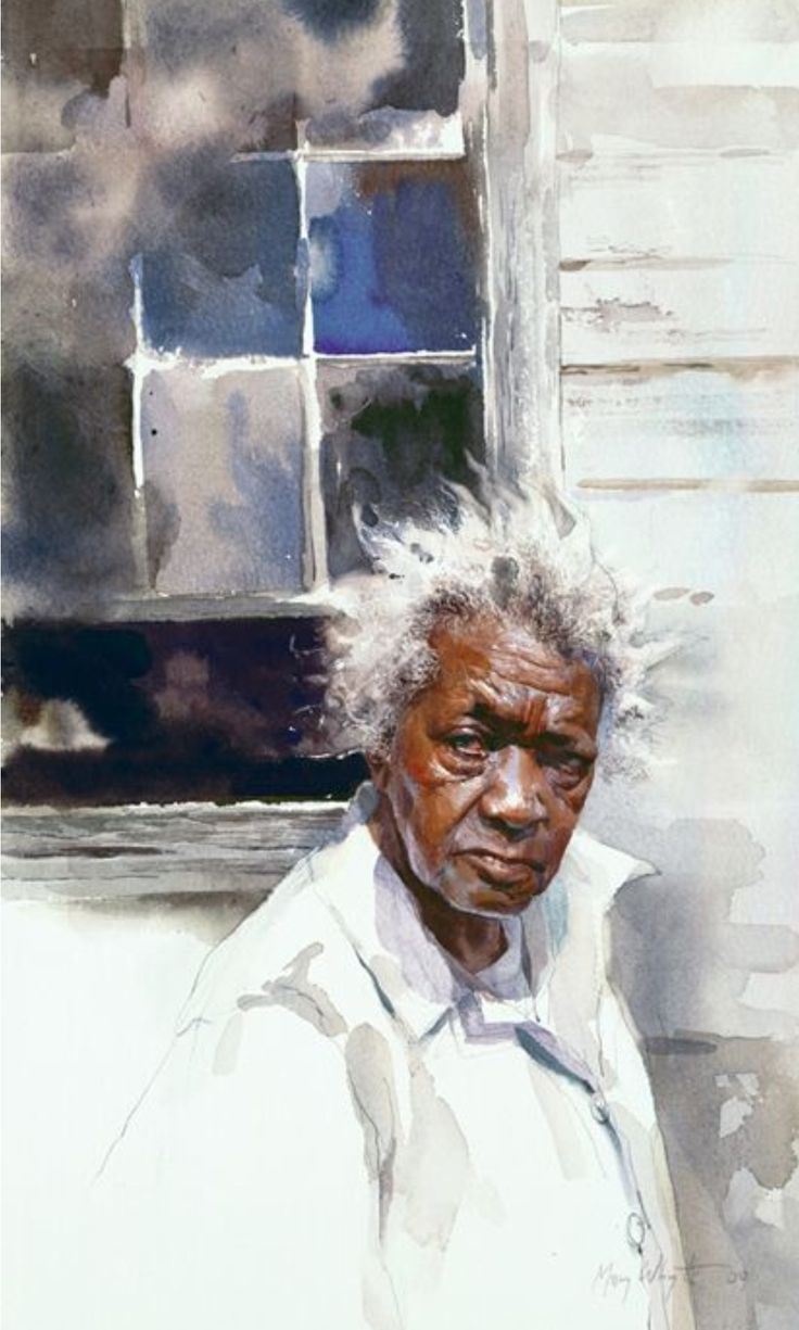 Renew watercolor artist magazine - Says So Much Mary Whyte Sc Artist