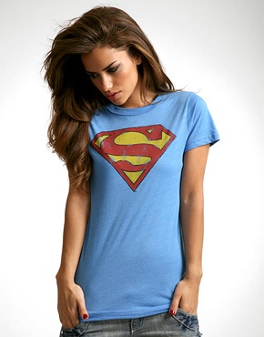 Cute Superman style t-shirt!  #fashion #style