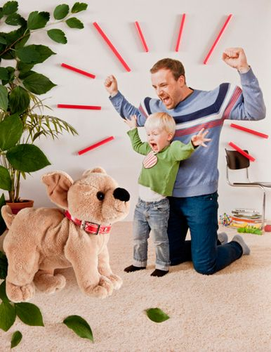 super parenting >> no fear game