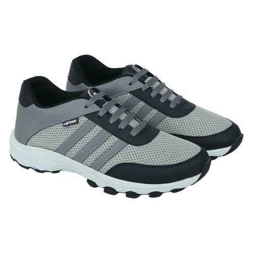 Sepatu Sporty Dy 032 Sintetik Abu Abu Kombinasi 39 43 Rp