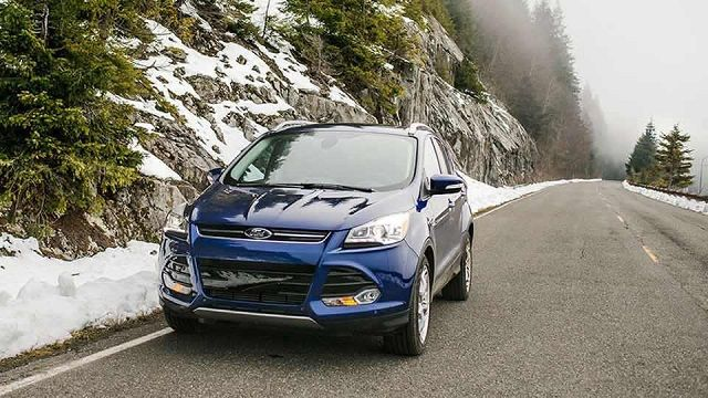 2016 Ford Escape Small SUV Review Front View