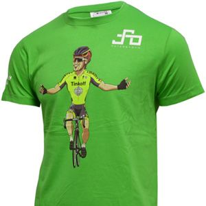 Cycling t-shirt. Peter Sagan. Sportful. Tinkoff.