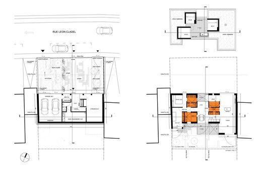 Wooden frame house,Floor Plans