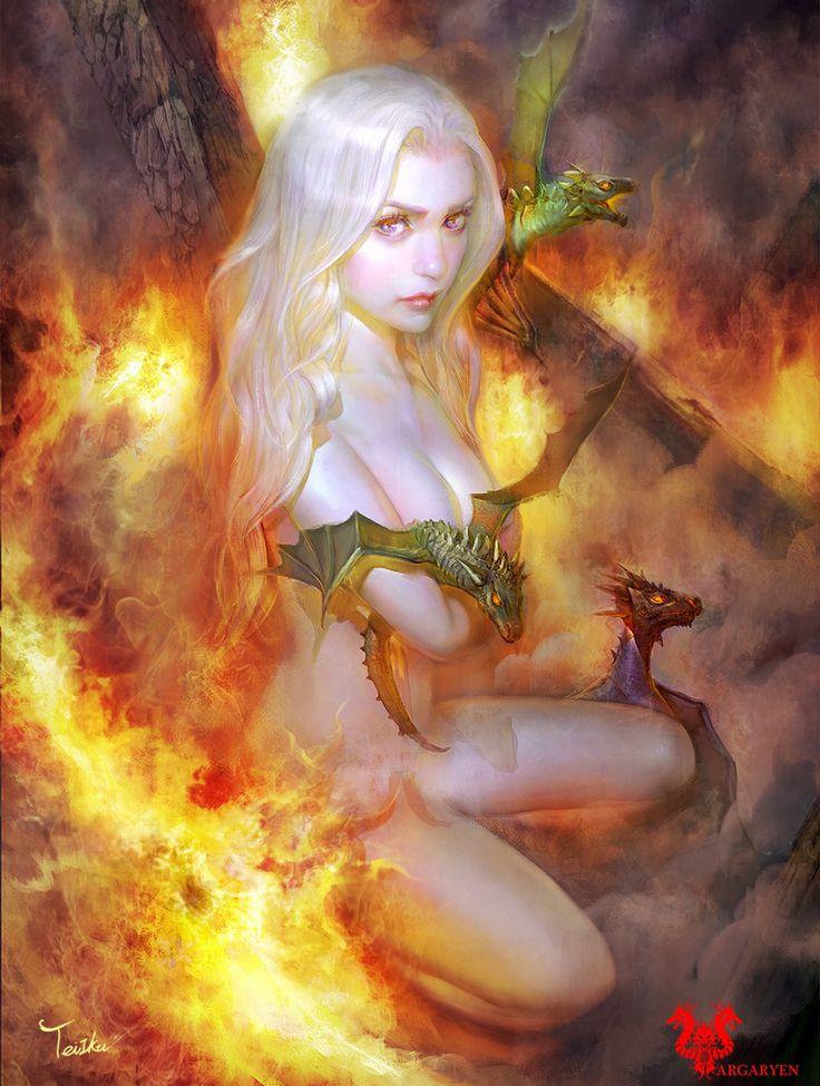 Tei Iku's powerful Game of Thrones art