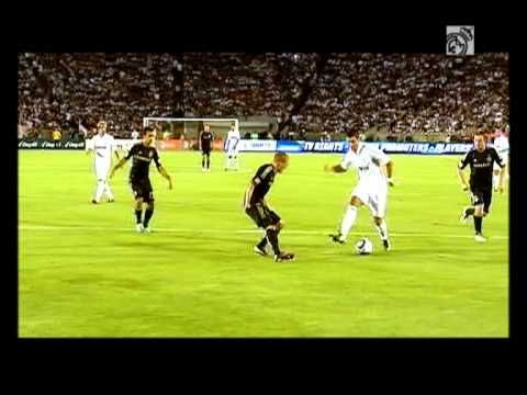 Youtube GOALS: L.A. Galaxy 1-4 Real Madrid