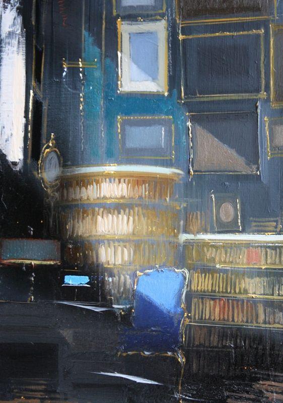 jean Arcelin - Bureau bleu