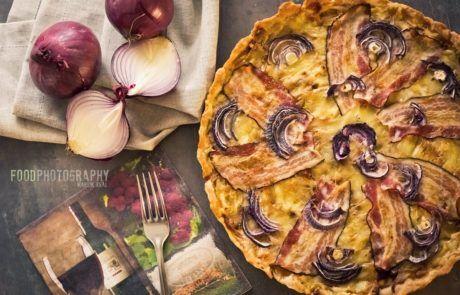 Francouzský cibulový koláč | French onion cake