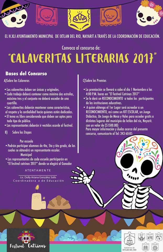 Image Result For Calaveritas Literarias Calaveras Literarias Literario Calaveras